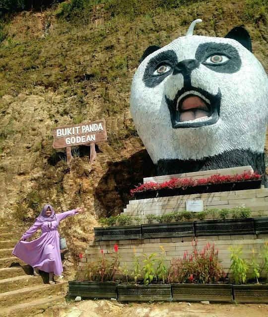 Tempat wisata Bukit pandawa godean sleman yogyakarta