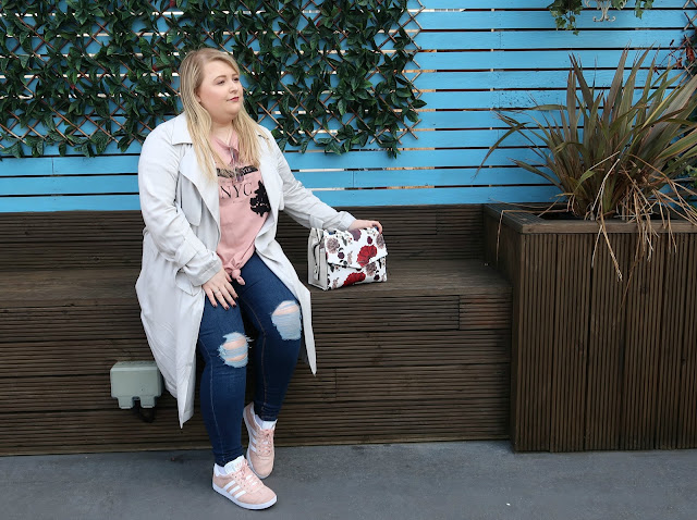 Danielle Levy, Liverpool Blogger, Adidas Gazelle trainers, Fiorelli handbags, Very clothing, Warehouse, Oh Me Oh My,