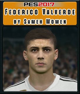 PES 2017 Faces Federico Valverde by Sameh Momen