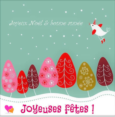 Meilleurs voeux pour un Noël plein de joies et une nouvelle année