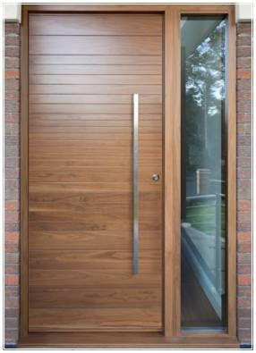 model daun pintu 1 pintu minimalis