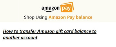 How to transfer Amazon gift card balance to another account (Amazon Pay Balance Transfer Trick)