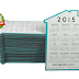 FREE Magnets 2015 House Shaped Calendar Sample