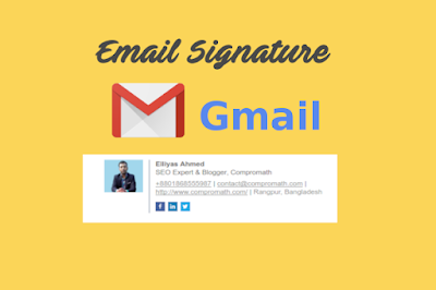 add professional Email Signature to Gmail