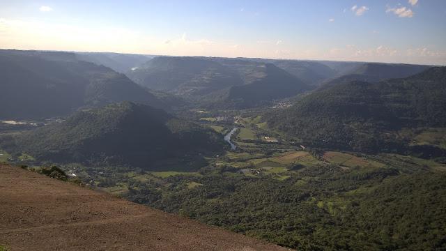 Vista do Vale do Rio Caí