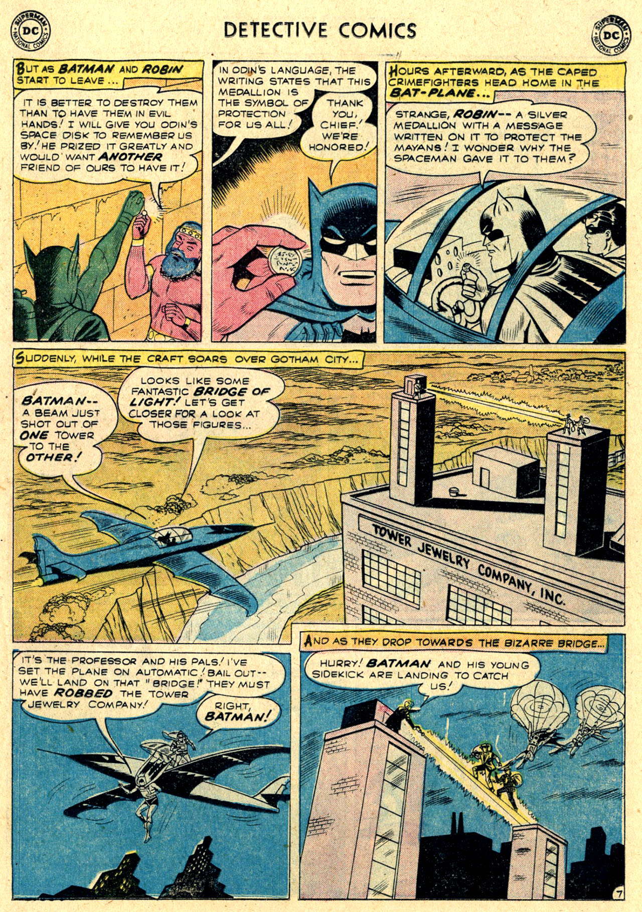 Read online Detective Comics (1937) comic -  Issue #263 - 9