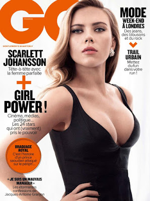 Scarlett Johansson – GQ France Magazine