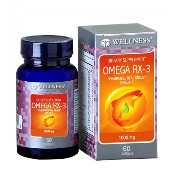Wellness Omega Rx 3 Terobosan terbaru Omega 3