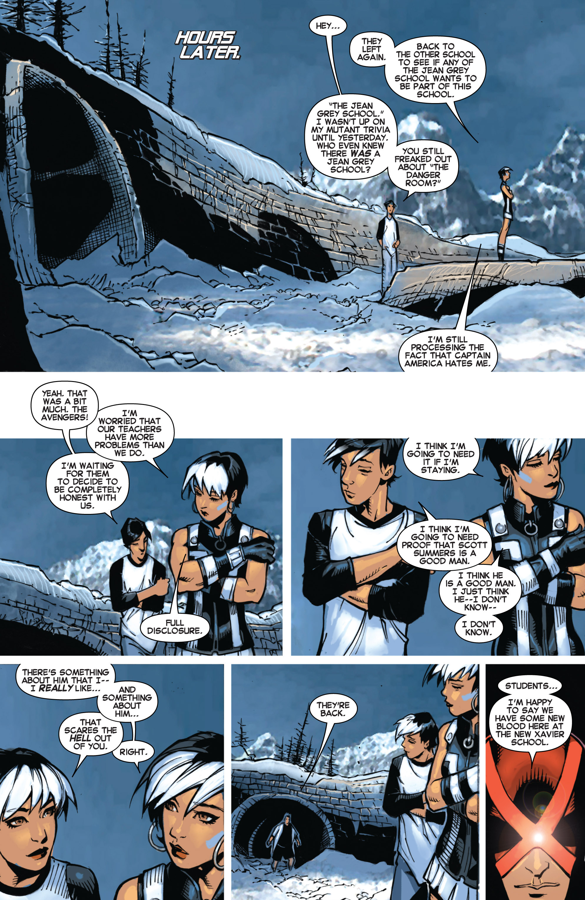 Read online Uncanny X-Men (2013) comic -  Issue # _TPB 1 - Revolution - 82