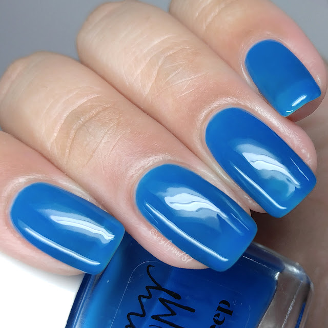 Penny Bloom Nail Polish - Ocean Deep