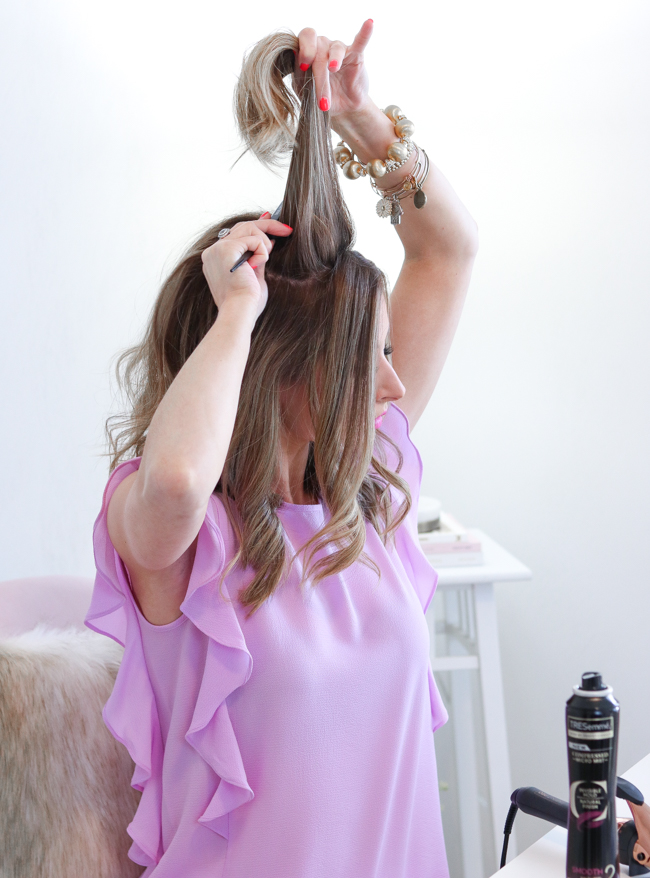 TRESemme Micro Mist Hairspray Curly Hair Tutorial