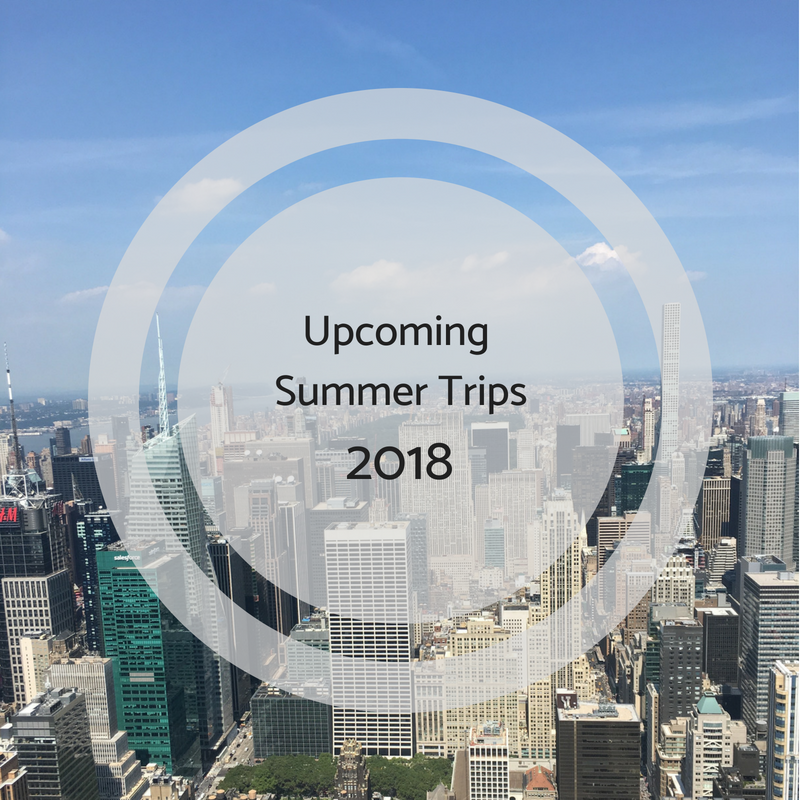 Stephanie Kamp Blog: Upcoming Summer 2018 Trips