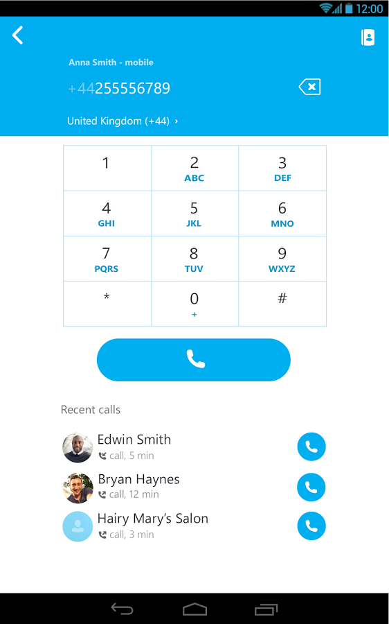 Skype flirten