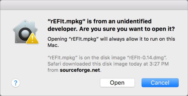 MacOS-Sierrada-bir-geliştirici-uygulamasi-nasil-yüklenir