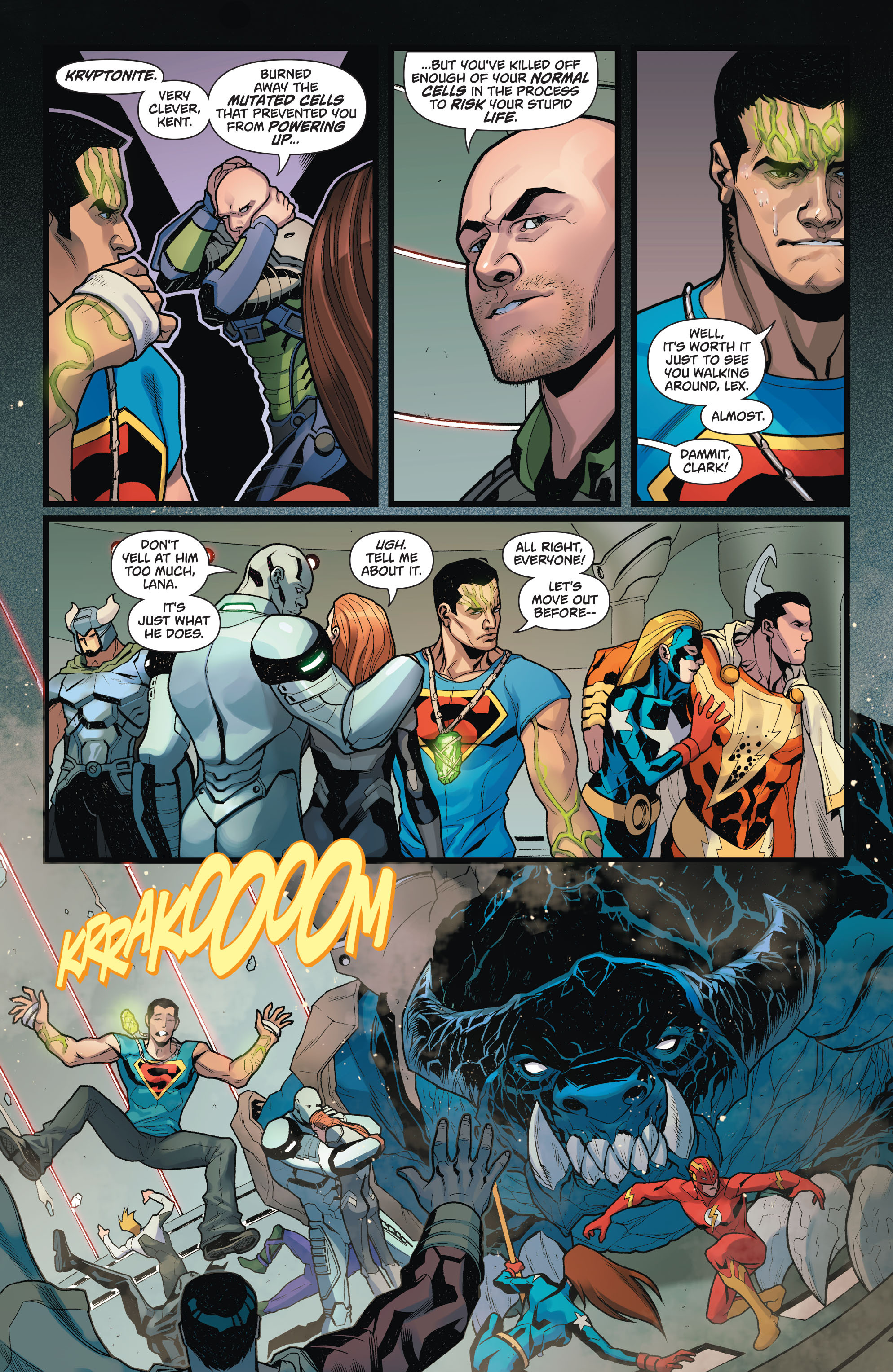 Read online Action Comics (2011) comic -  Issue #50 - 22