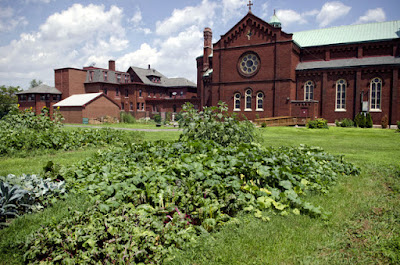 A garden at a church in Detroit - from U of Michigan SNRE on Flickr
