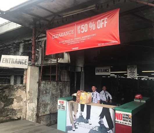 SALE ALERT! Converse Is On 50% Clearance Sale In A Warehouse In Marikina City