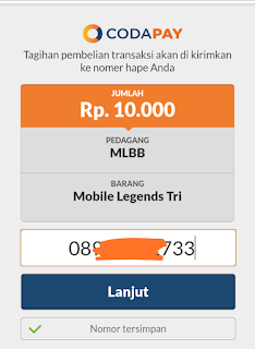 Membeli diamond mobile legend