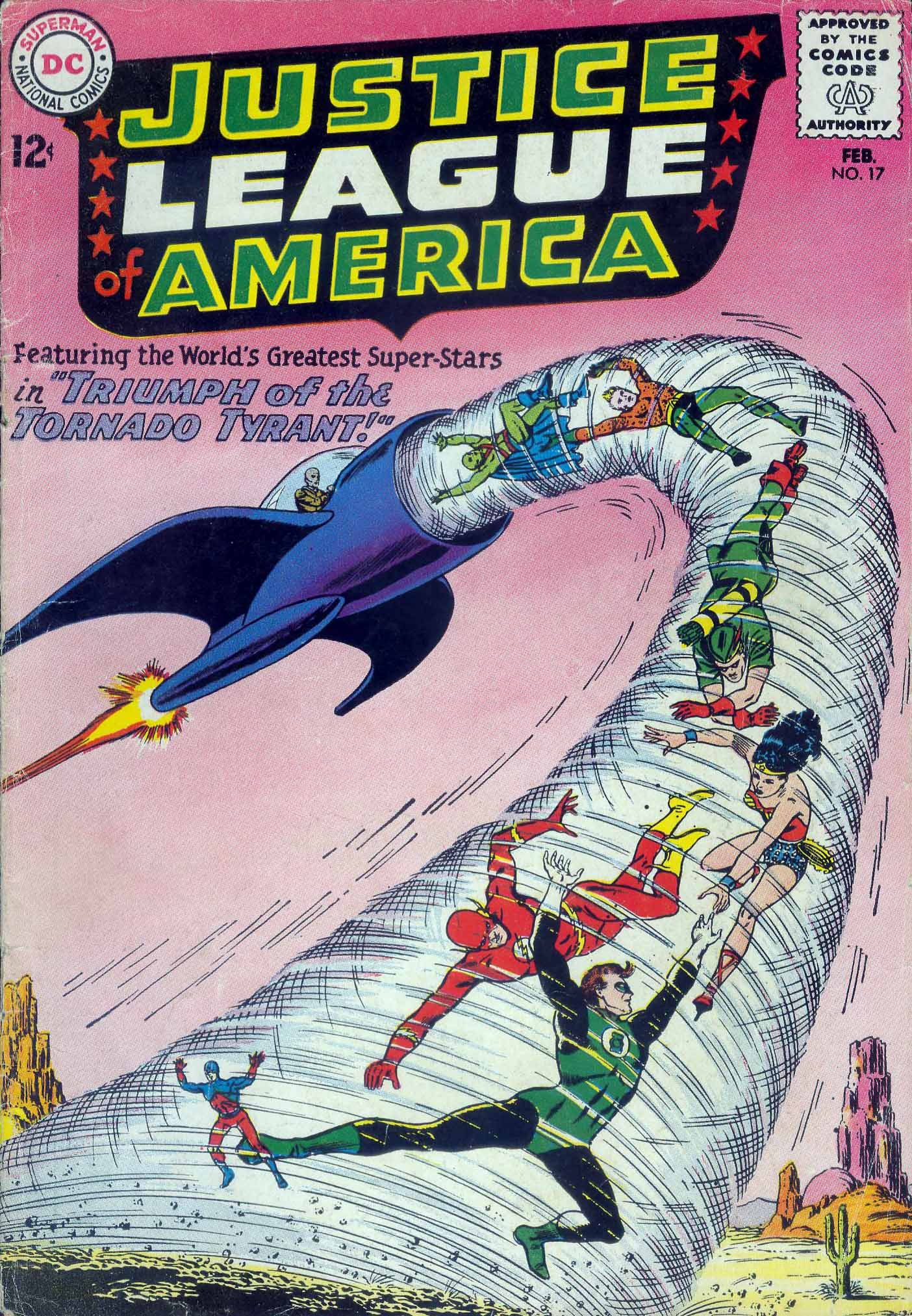 Justice League of America (1960) 17 Page 1