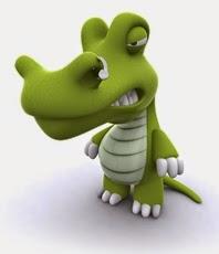 крокодил мультяшный