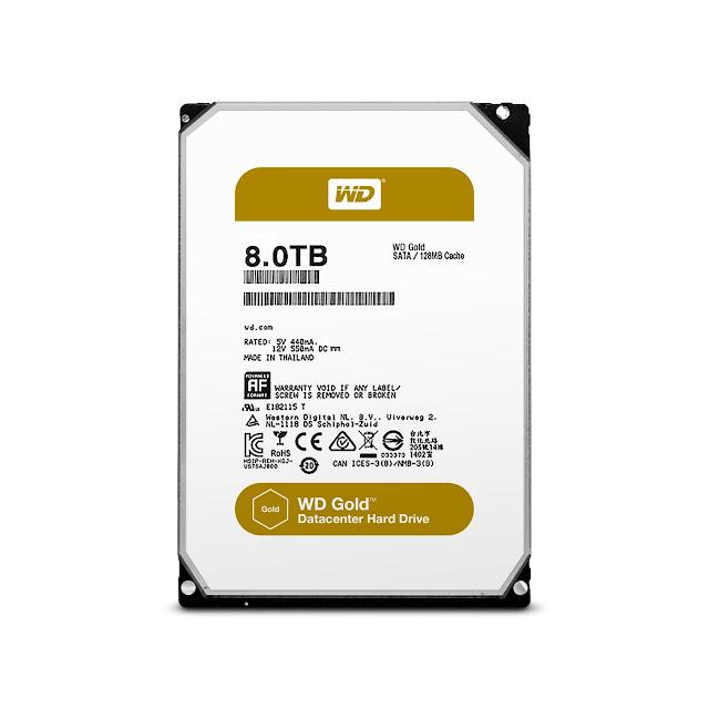 Western Digital mejora su portafolio para centros de datos con el disco duro WD Gold