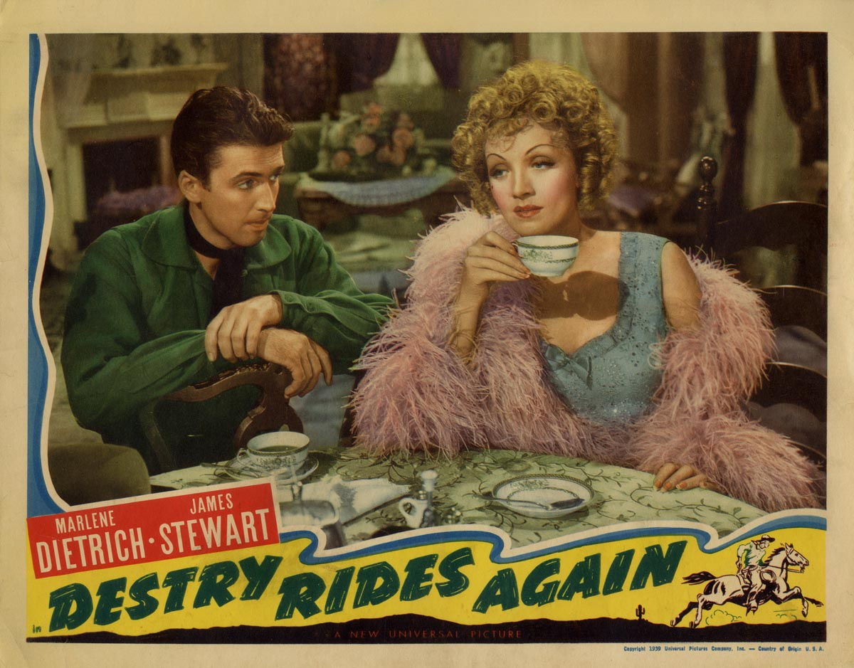 Image result for destry rides again movie poster 1939