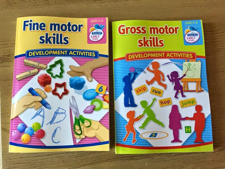 Book review fine and gross motor skills from prim ed for Fine and gross motor skills activities