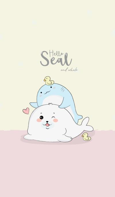 Hello Whale&seal