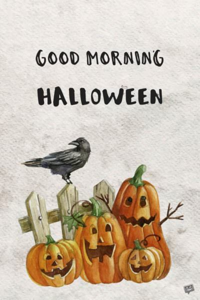 good-morning-halloween-pumpkins