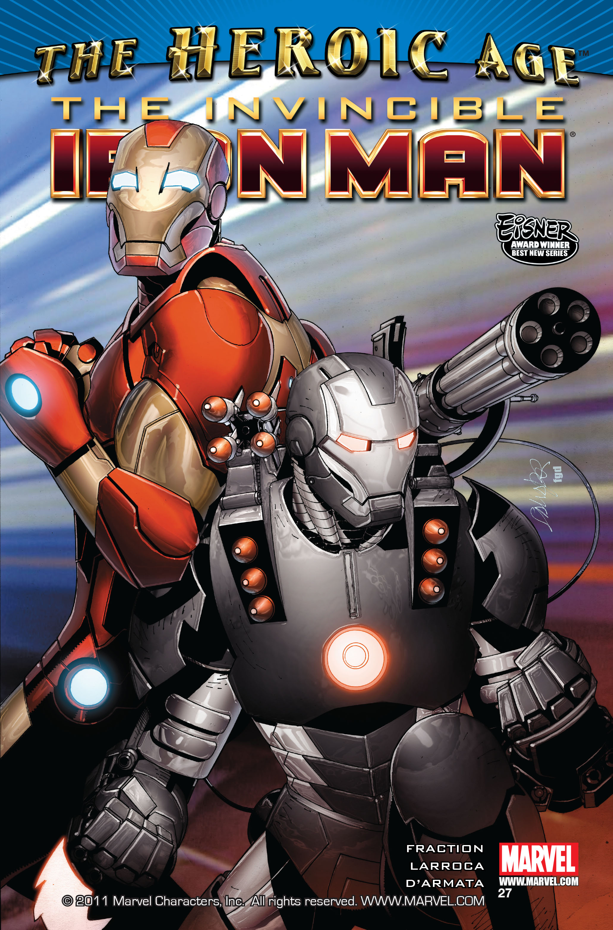 Invincible Iron Man (2008) 27 Page 1