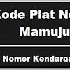 Kode Plat Nomor Kendaraan Mamuju