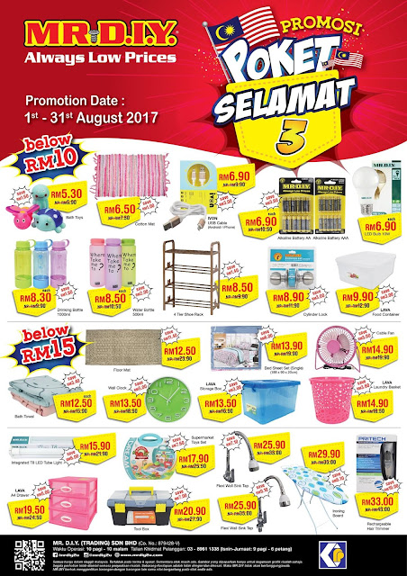 MR DIY Malaysia Promosi Poket Selamat Discount Offer Promo