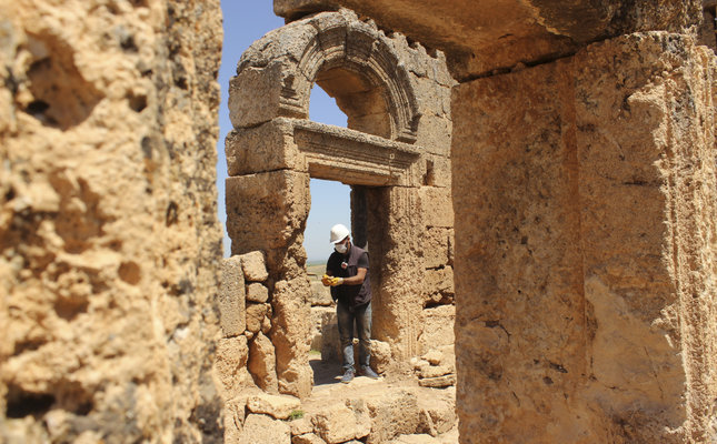 1,700 year old Mithras temple discovered in southeastern Turkey