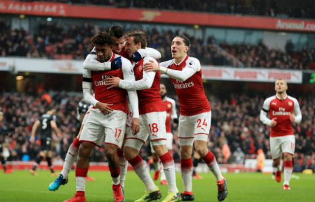 Video Arsenal - Crystal Palace: 22 phút điên rồ, đại tiệc ngày vắng Sanchez