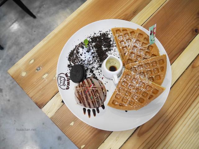 Waffle! Waffle! Laundfle Cafe by WaWa Land @ Sri Petaling