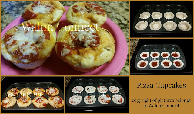 Pizza Cupcakes for Kids that they can make!!!
