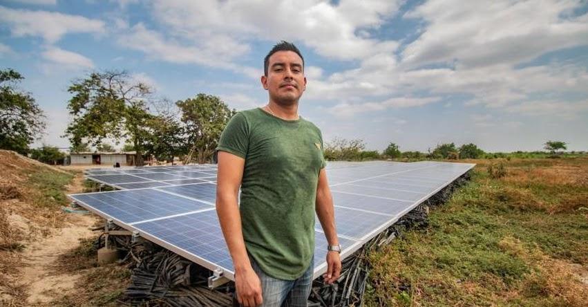 ANTONY VILLEGAS: Conoce al becario que busca potenciar la agricultura de Olmos - PRONABEC - www.pronabec.gob.pe