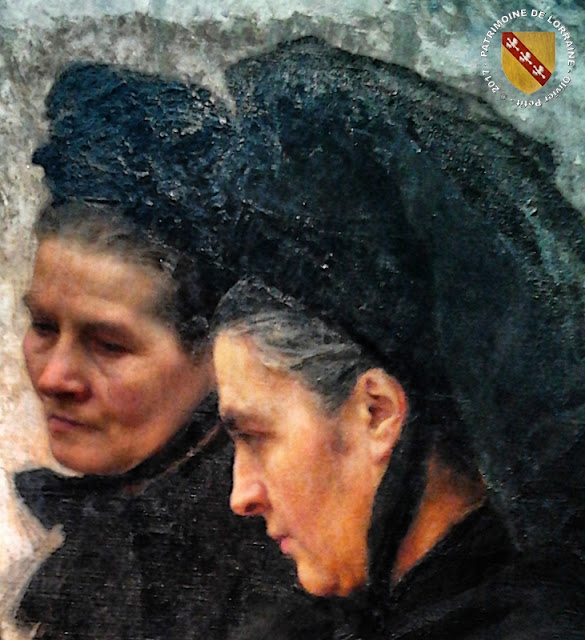 """NANCY (54) - Musée des Beaux Arts : """"La Toussaint"""" d'Emile Friant (1888)"""