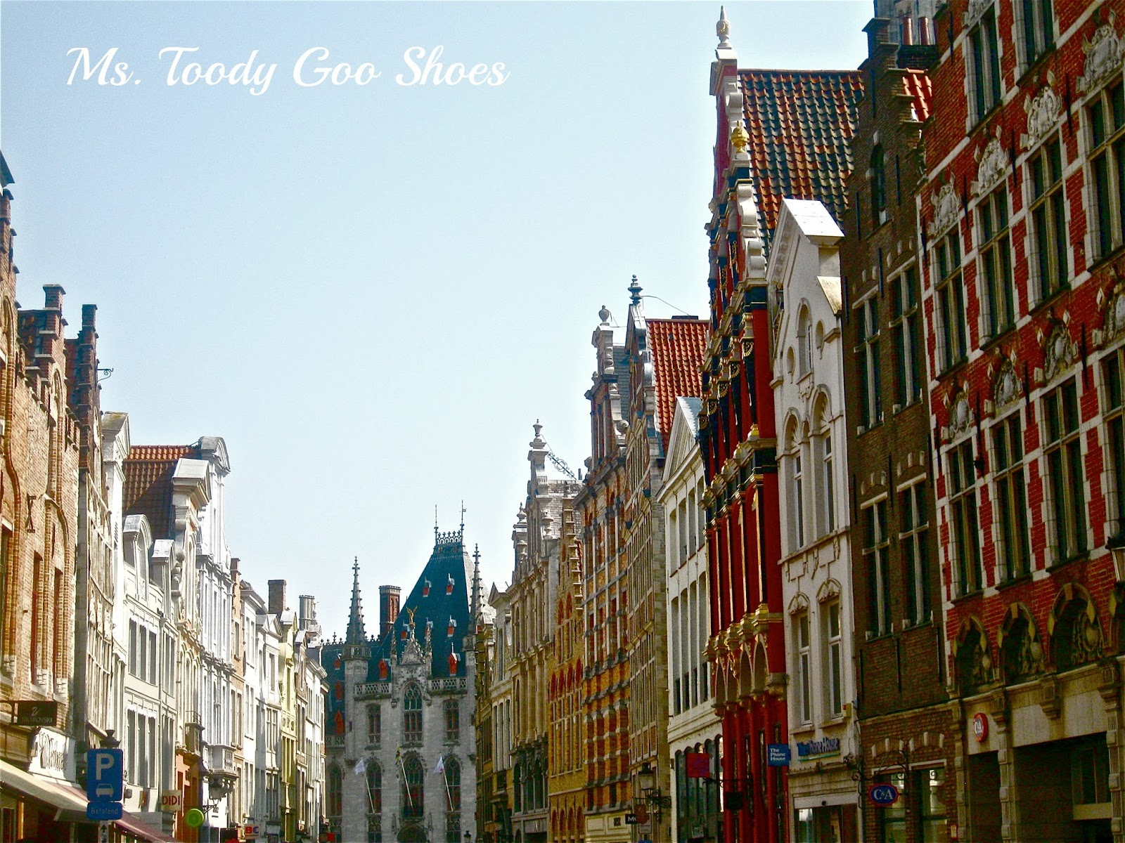 Bruges, Belgium ---  Ms. Toody Goo Shoes