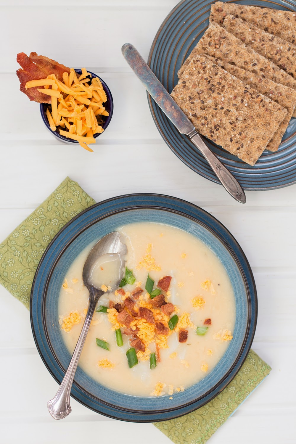 Cheddar Beer Soup with Potato and Bacon