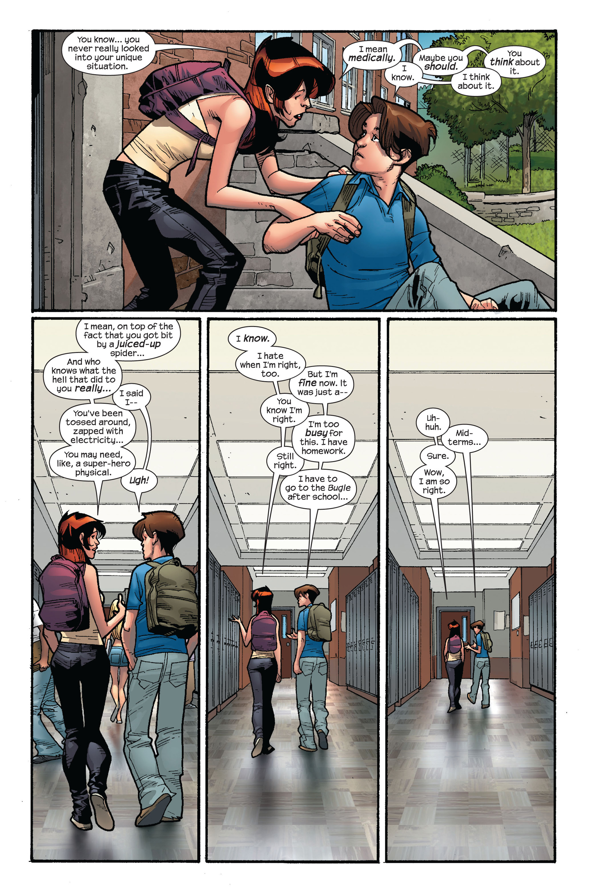 Read online Ultimate Spider-Man (2000) comic -  Issue #124 - 6