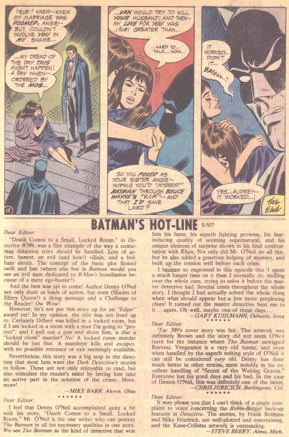 Detective Comics (1937) 403 Page 18
