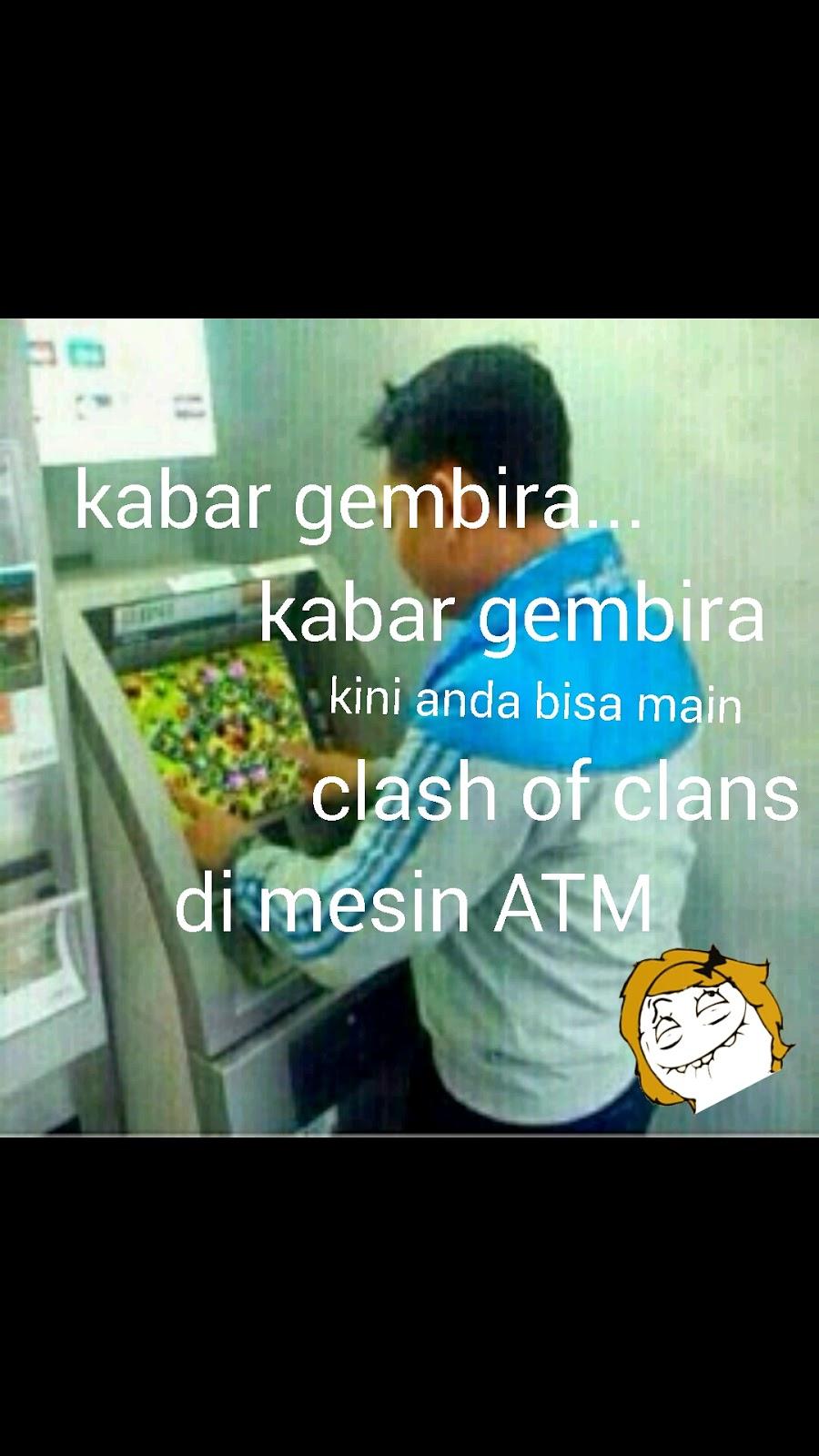 Kumpulan DP BBM Meme COC Lucu Clash Of Clans Update Terbaru