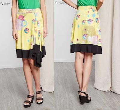 falda amarilla de la marca Chacok