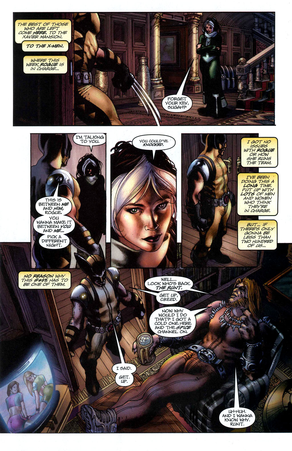 Read online Wolverine (2003) comic -  Issue #50 - 7