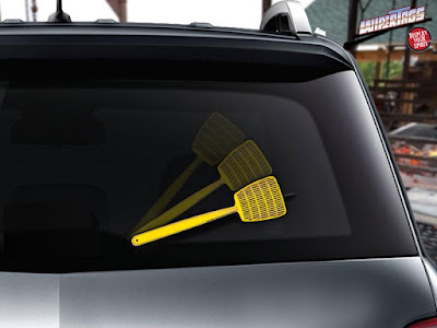 Rear Wiper Decals