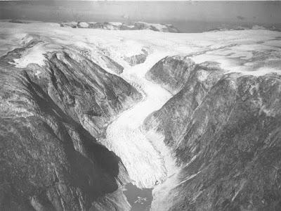 Glaciar Nigards en 1947