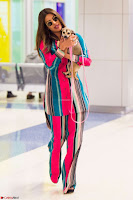 Priyanka Chopra in Colorful Jumpsuit arriving at JFK Airport New York 18 June 2017 ~  Exclusive 025.jpg