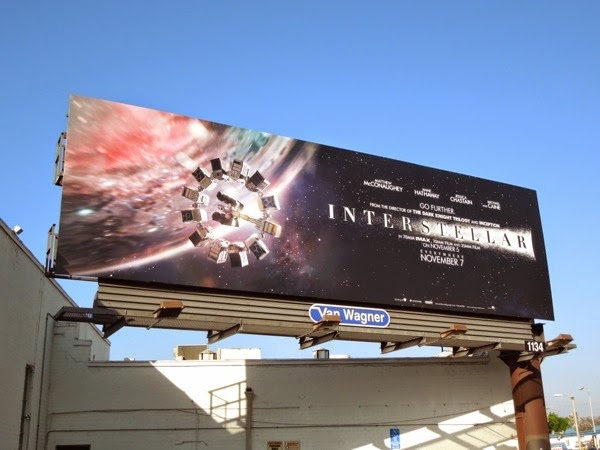 Interstellar Go further billboard