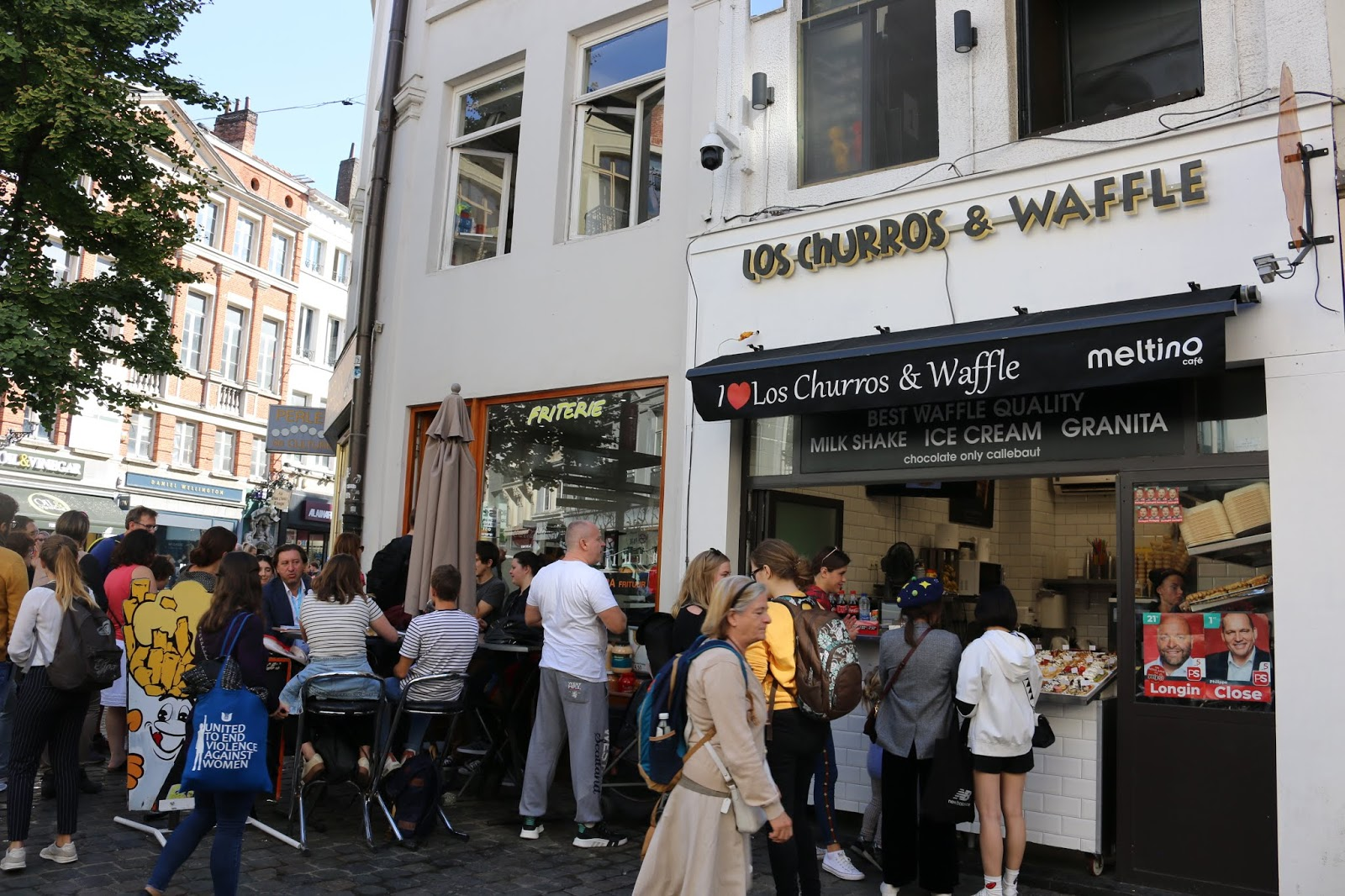 Los Churros & Waffle Brussels
